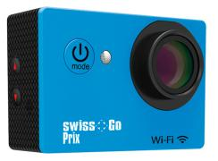 - - 0653018 Prix WiFi Action Cam 12 mp azzurra Swiss Go