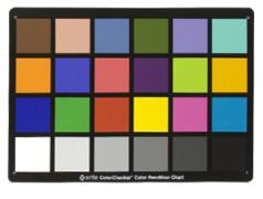 - - 9881011 Munsell Color Checker (24 colori) - MSCCC