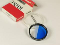 - - Filtro d. 52 Half Color blu