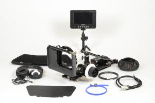 VIDEO E AUDIO - Supporti video - Steadycam, Supporti a Spalla e Accessori 9940450 GenusTech Matte Box + valigia HPRC + accessori vedi elenco