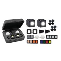 FOTOGRAFIA - Flash & On-Camera Light - LED Kit di illuminazione portatile Professional - Lume Cube