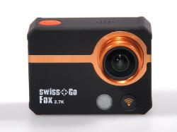 - - 0653016 Fox WiFi Action Cam 4K Swiss Go