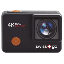 - - 0653058 SG-4.1W 12Mp Wifi Ultra HD/4K Action Cam Nera NEW - Swiss Go